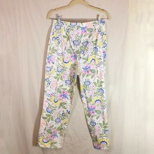 Leon Levin Pants - Leon Levin Beach House Floral Pants